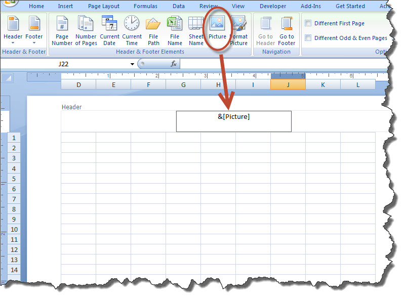How to Add a Watermark to a MS Excel Worksheet | Technical Communication Center