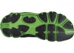 """Note the separated """"pods"""" that make up the sole and the split-toe design."""