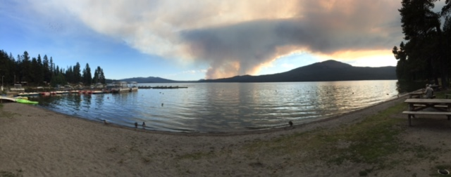 Diamond Lake Fire