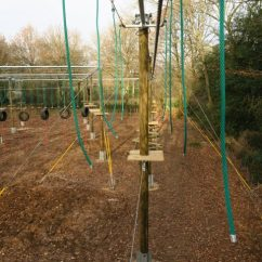 Wheelchair Zip Wire Harness High Ropes Course – Continuous Belay System Ewhurst