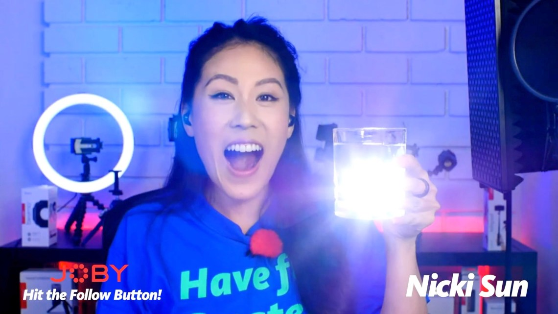 These JOBY Beamo Lights are Magnetic, Waterproof, and GREAT FOR VLOGGING!