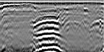 GPR scan