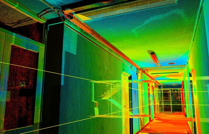 Overhead Services Laser Scanning
