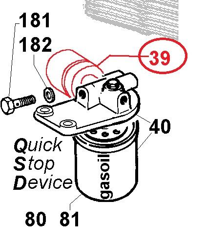 Electrovanne qsd 5ld 9ld 11ld 12ld lombardini (5ld825-2