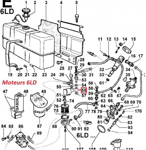 Electrovanne 5ld 6ld 9ld 11ld 12ld lombardini (3587103