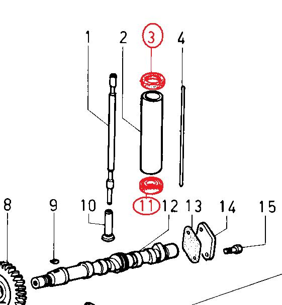 Joint tube 8ld600-2 8ld665-2 8ld740-2 904 914 l20