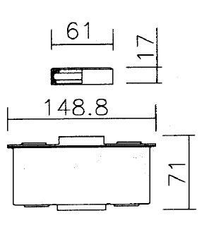 Masse filtrante 8ld 9ld 12ld lombardini [5496075]