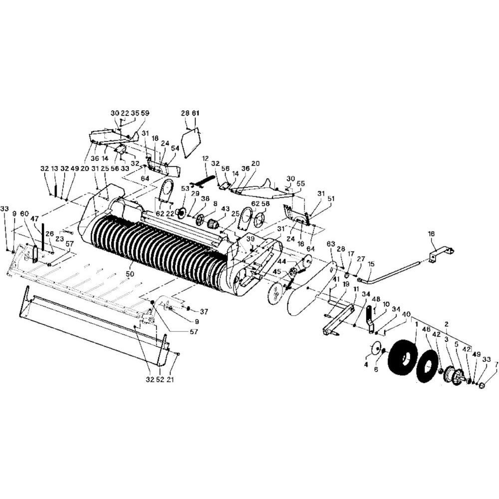 27 Meetwielen WPU opraper passend voor DEUTZ-FAHR RB 4.60