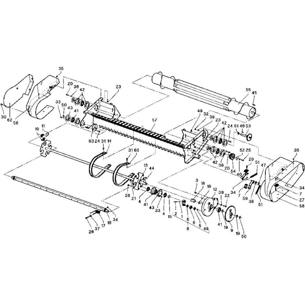 25 Opraper WPU passend voor DEUTZ-FAHR RB 4.60 in Landbouw