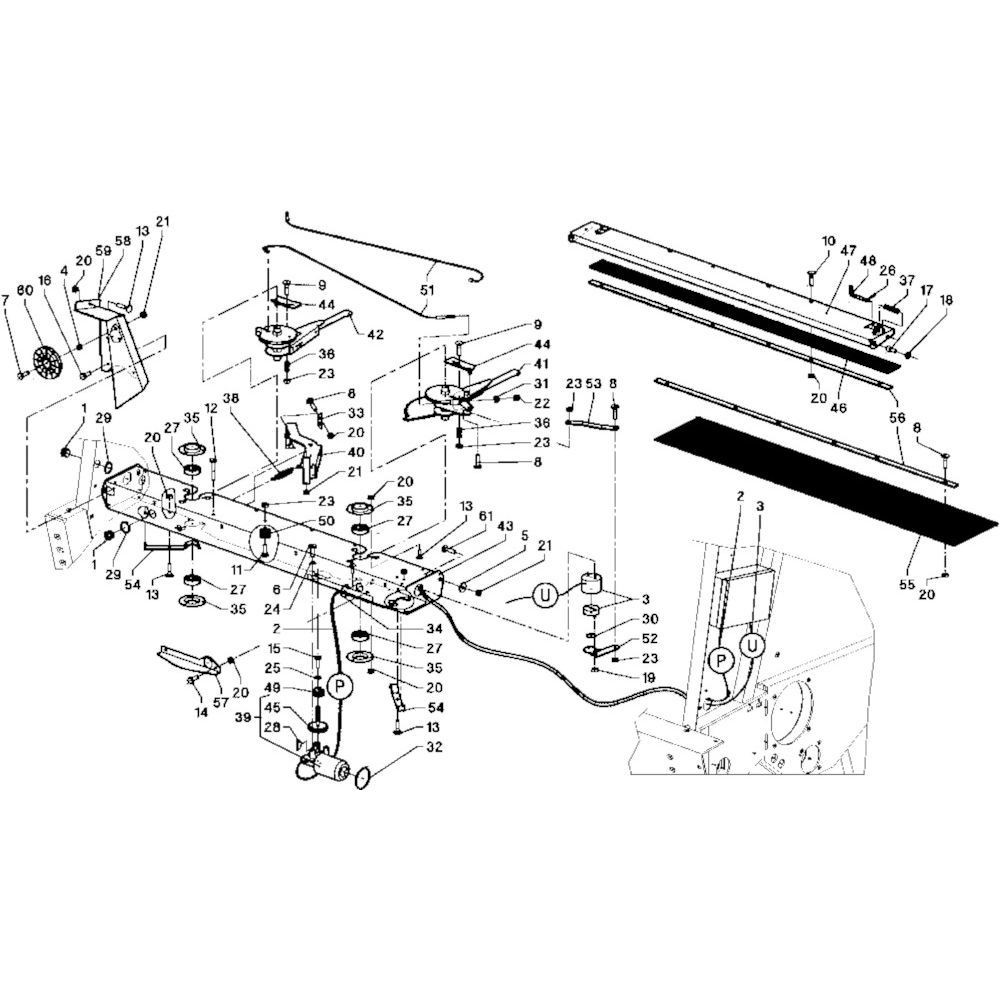 18 Touwbindsysteem passend voor DEUTZ-FAHR RB 4.60 in