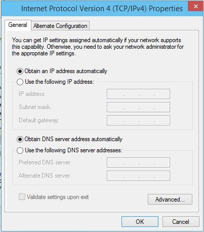 how to change ip address server 2012 powershell