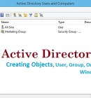 Create Objects In Active Directory
