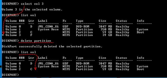 DiskPart delete Partition - How to Delete a Partition with Command Line in Windows 10 - Technig