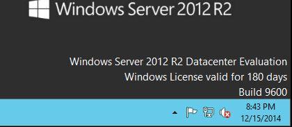 Windows License valid for 180 days