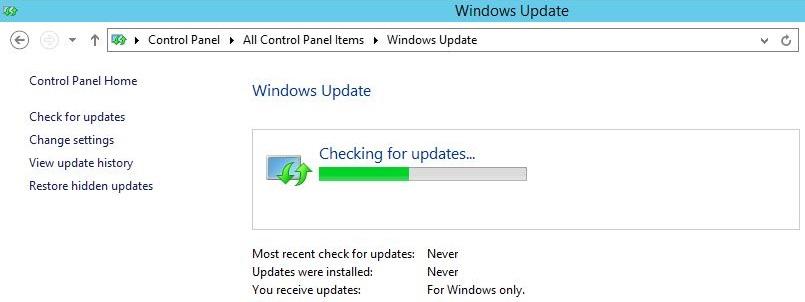 Windows Server Update
