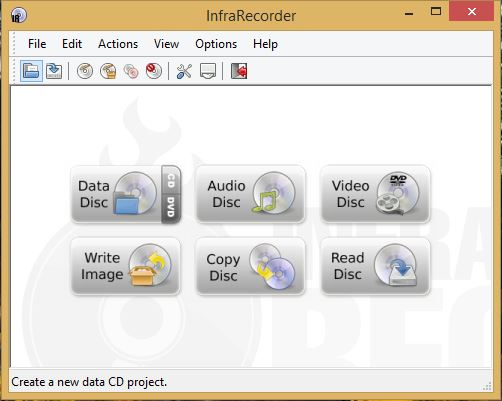 Write Disc With InfraRecorder - Technig