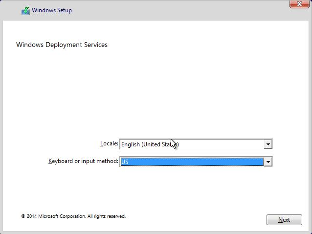 how to change language of windows 10 setup