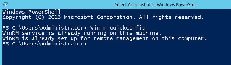 Configure WinRM on Windows Server 2012 R2   Linux
