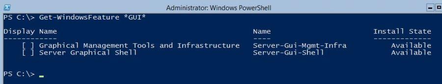 Windows GUI Shell