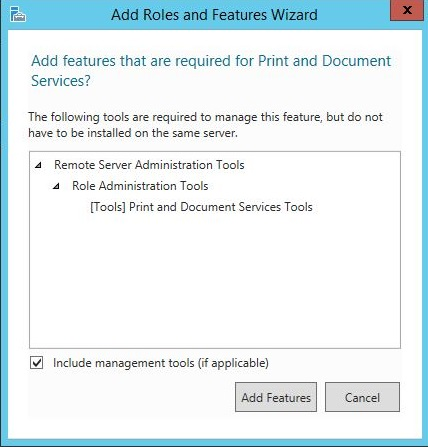Install and Configure Print Server