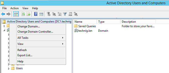 Change Domain Controller