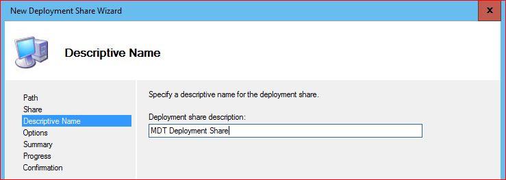 Deployment Descriptive Name