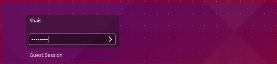 Ubuntu Login Password