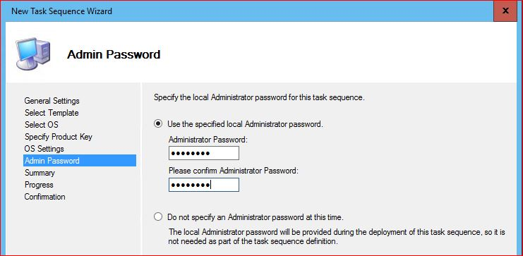 Windows 10 Admin Password