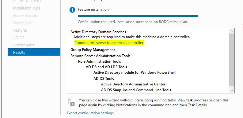 Promote this serve to a domain controller