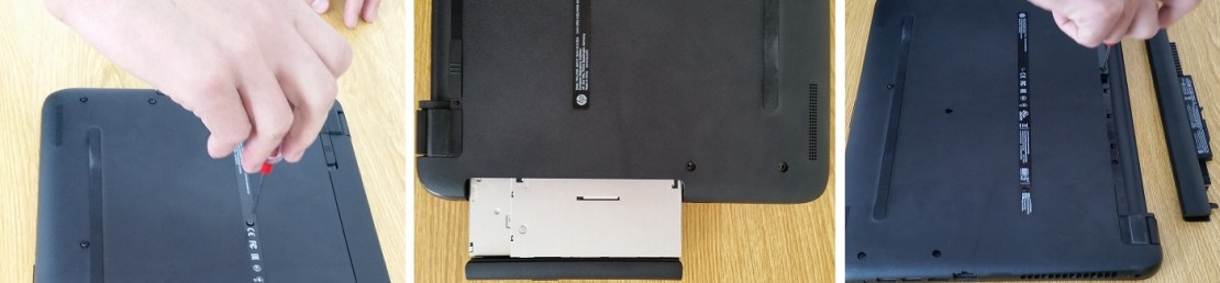 Unscrew the Back Panel