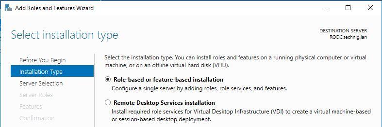 Windows Server 2016 Server Manager