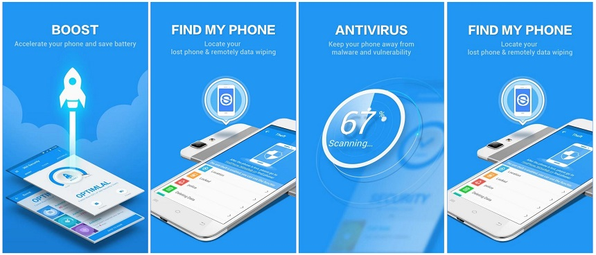 360 Security - Antivirus Boost - Best Android Junk File Cleaner