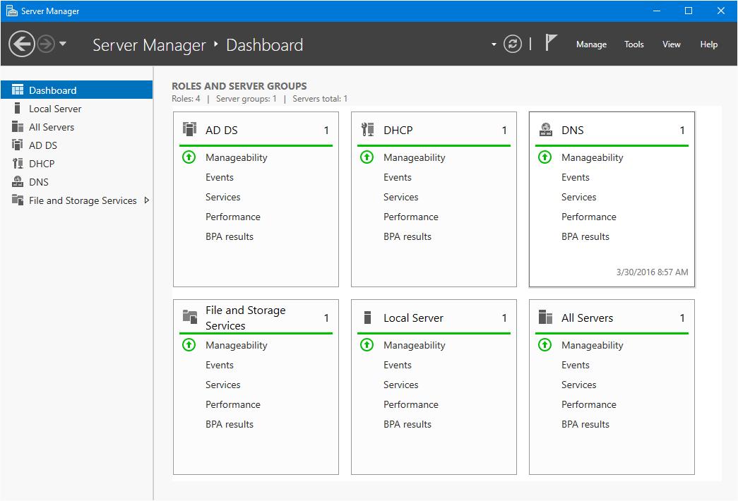 Deploy Active Directory Windows Server 2016 - Technig