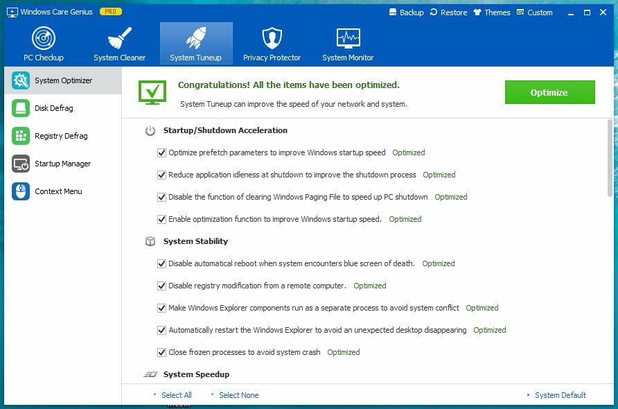 Windows Care Genius - System Optimizer