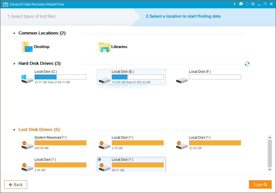Recover Lost Files with EaseUS Data Recovery Software - Technig