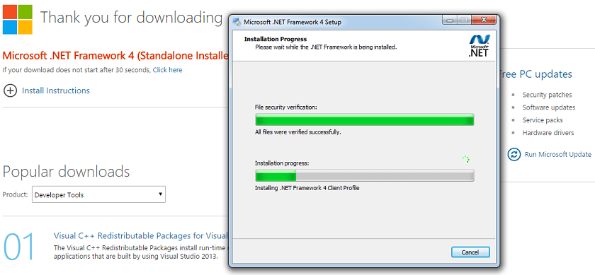 net framework offline installer free download