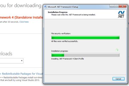 microsoft .net framework 4 client profile full offline installer