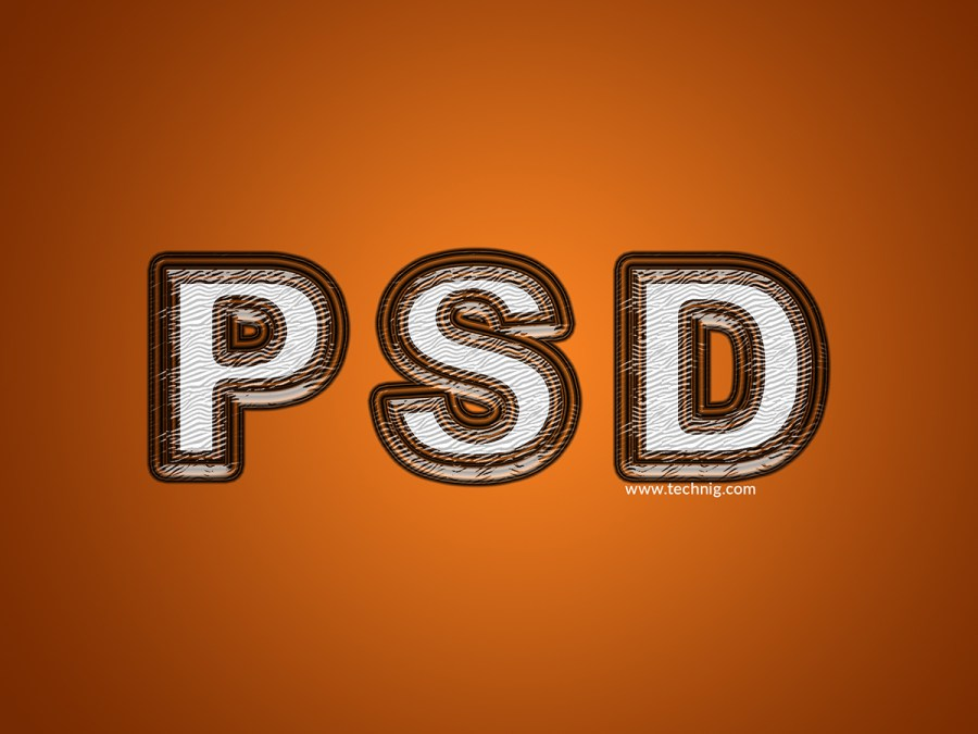 Realistic Plastic Effect with Layer Style In Photoshop CC - Technig