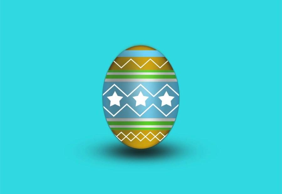 Design Easter Egg in Photoshop - Technig
