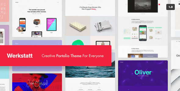 Top 10 WordPress Portfolio Themes 2017- 1