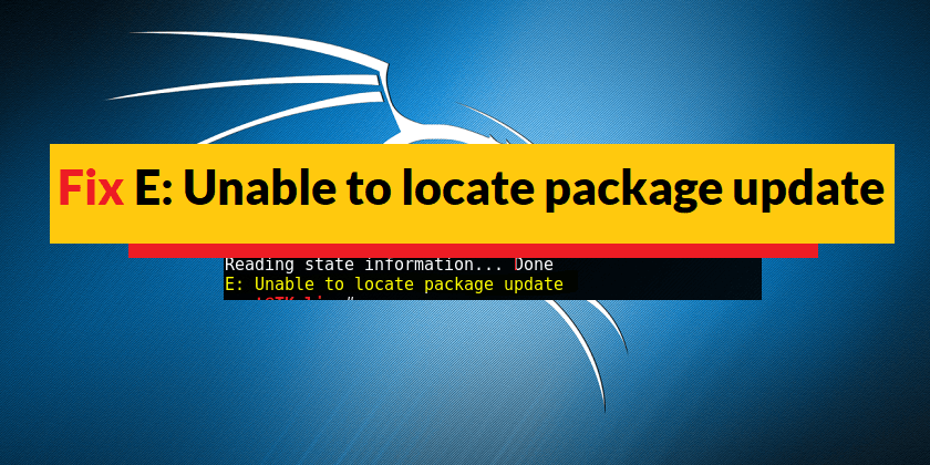 Unable To Locate Package Linux Image Server - How to