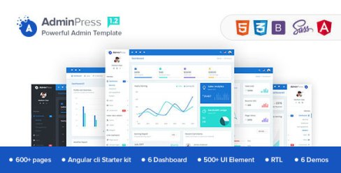 Admin Press - Best HTML 5 Admin Templates