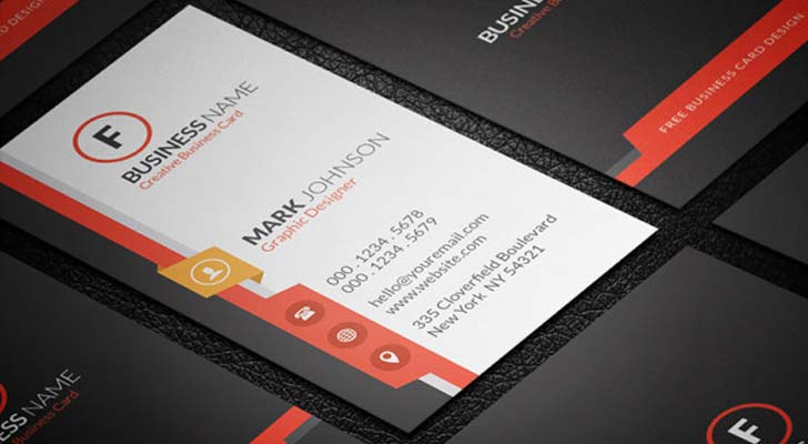 Top 20 free business card templates with psd files technig free vertically business cards with free psd files technig reheart