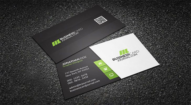 Top Free Business Card Templates With PSD Files Technig - Free business cards templates