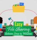 Easy File Sharing between Linux and Windows 10 - Technig
