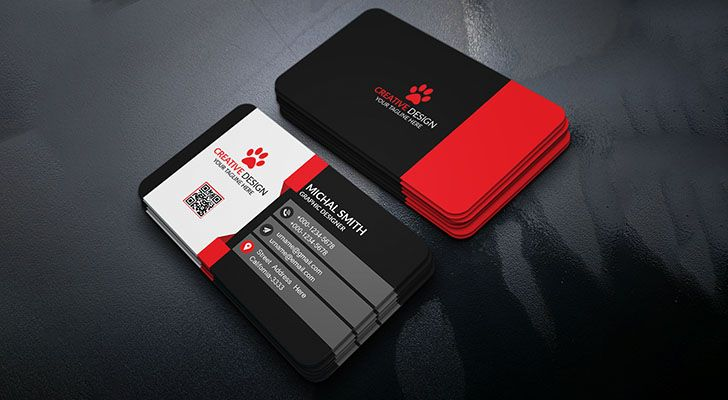 Top Free Business Card Templates With PSD Files Technig - It business card templates