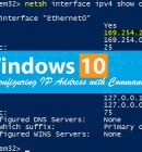 How to Change IP Address in Command Prompt in Windows 10 - Technig