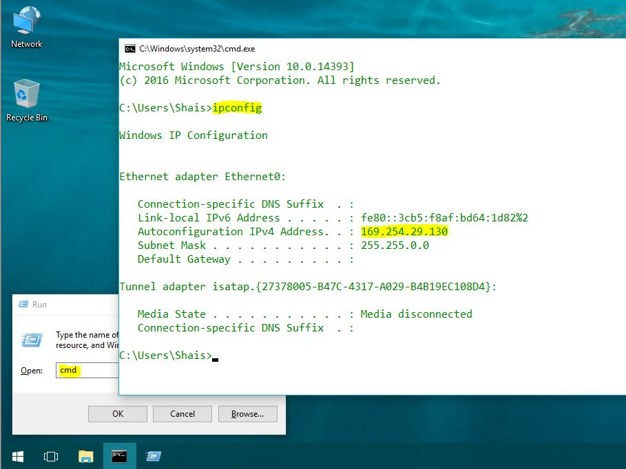 How to Find Your IP Address on Windows 10 - Technig
