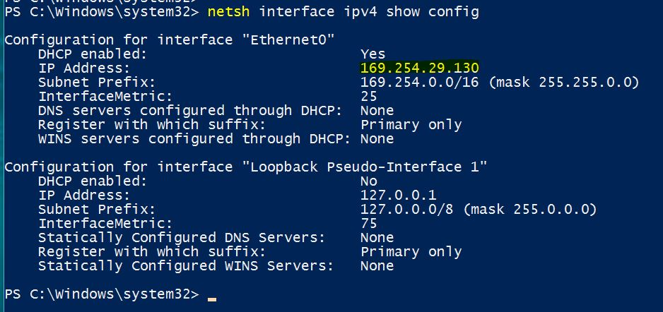 How to Find Your IP Address on Windows 10 with Netsh Command - Technig