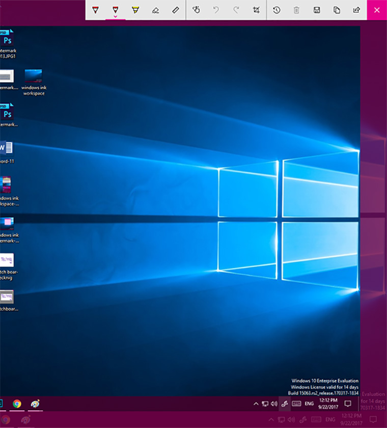 Windows 10 Screenshot - Technig